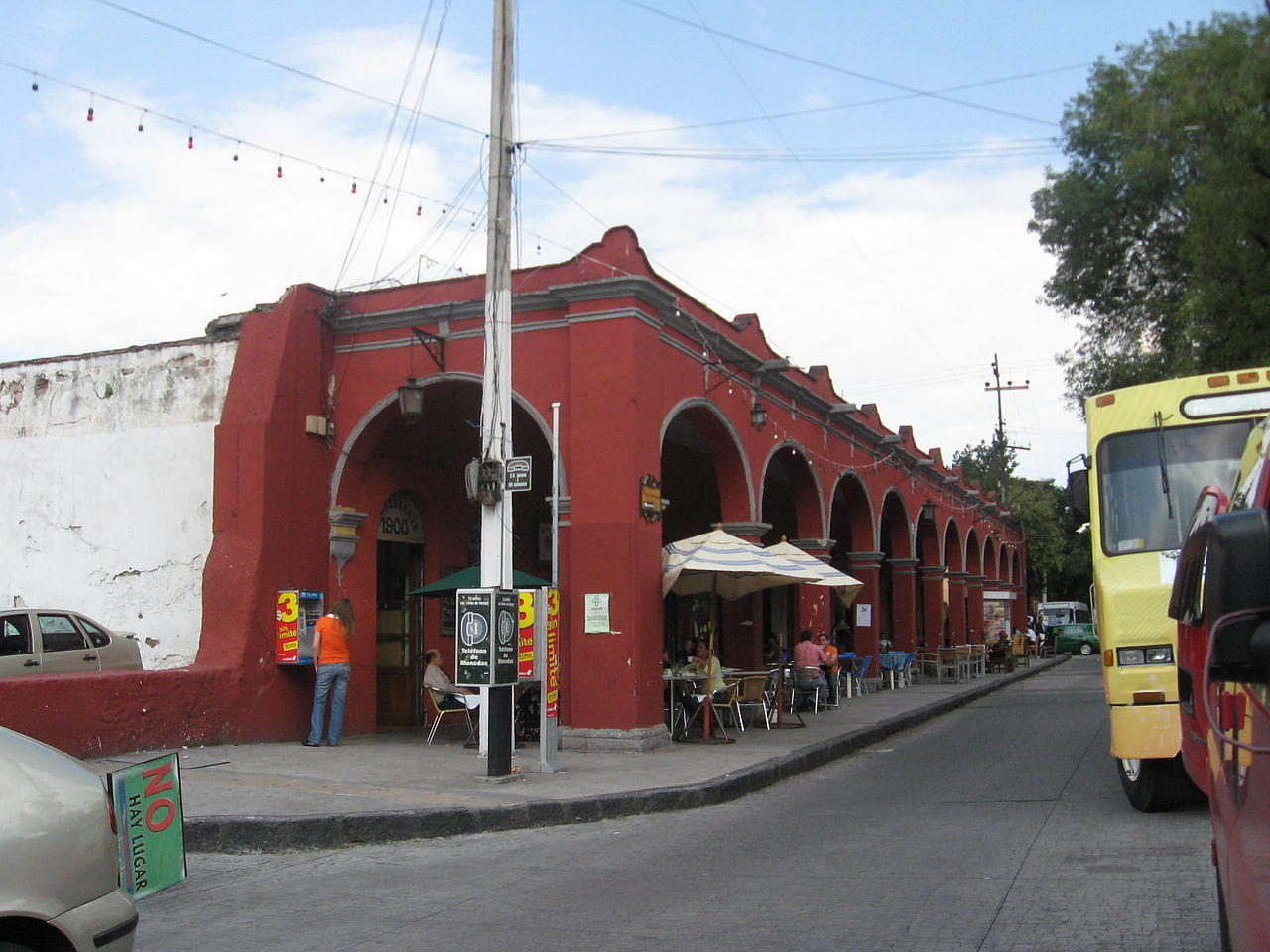 Neigborhoods Mexico City, Centro de Tlalpan, Restaurant
